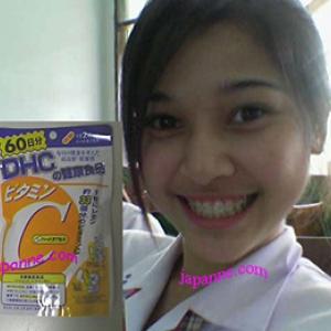 คลิ๊กมีรีวิว dhc vitamin C วิตามินซี 60วัน ดูกระจ่างขึ้นและขาวด้วย ผิวเนียนไปทั้งตัว ผิวแข็งแรง ใสขึ้น