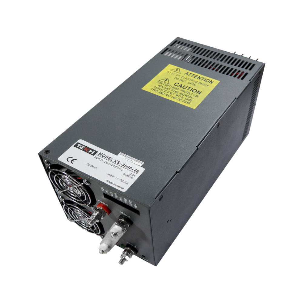 TEKH™ High Power AC to DC power supply 48V 62 5A 3000W